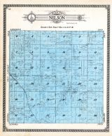 Nelson Township, Elm Creek, Huscher, Cloud County 1917